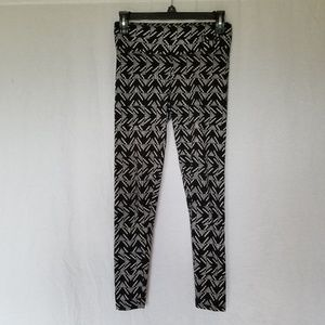 Pink Victoria's secret printed leggings size xs